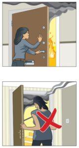 Stäng dörren/close your door